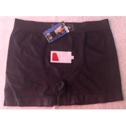 Boxer espuma color gris oscuro modelo Low battery