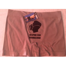 Boxer espuma color gris clarito modelo Breathless