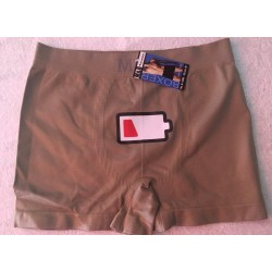 Boxer espuma color caqui carito modelo LOW BATTERY Talla M