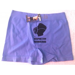 Boxer espuma color azul clarito modelo Breathless